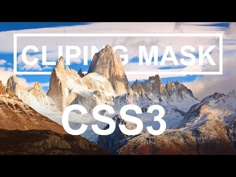 Clipping Mask Image CSS3