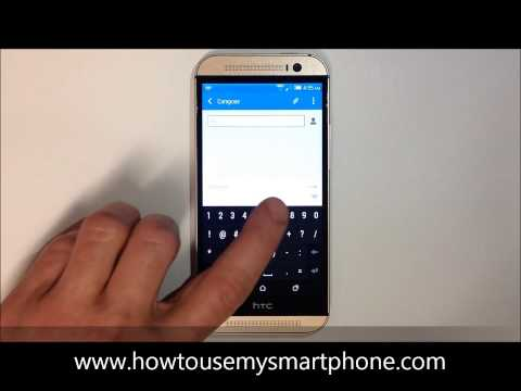 How to Send a Text Message - HTC One
