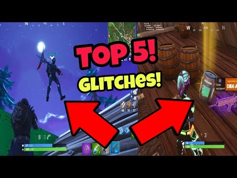 Fortnite Battle Royale Glitches (Top 5 season 4) Become invisible PS4/Xbox one 2018