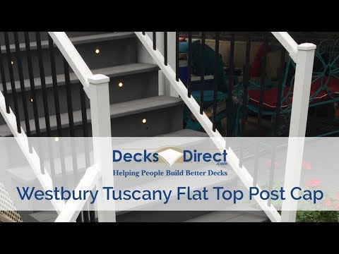 Post Cap For Westbury Aluminum Railing