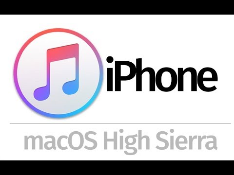 how to Sync Music from macOS High Sierra to iPhone 5 iPhone 6 iPhone 7 iPhone 8 iPhone X