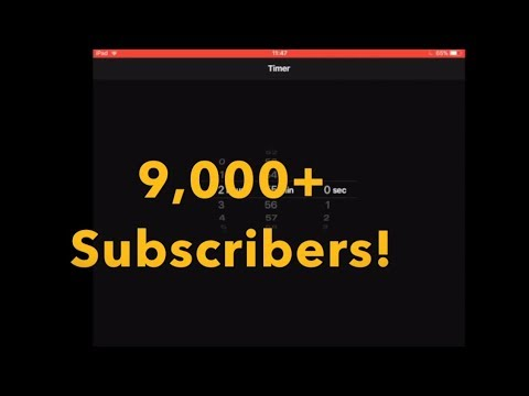 THANK YOU! 9,000+ Subscribers! THANK YOU!