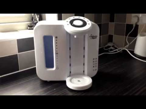 How to clean the Tommee tippee bottle prep machine