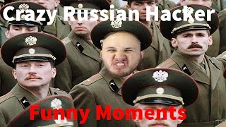 Crazy Russian Hacker Funny moments