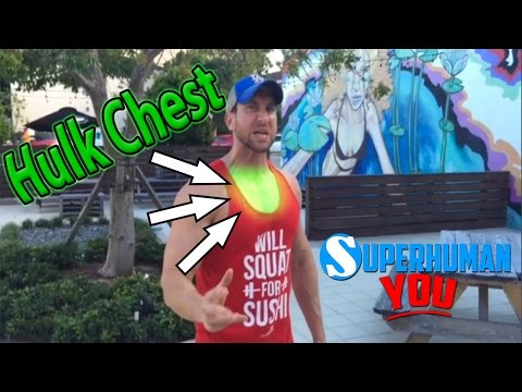 UPPER CHEST Workout at Home! (1 KILLER Upper Chest Superset Without Weights!)