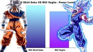 GOGETA SSJB VS BROLY SSJFP #_POWER LEVEL V2