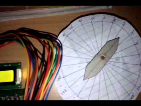 Stepper Motor Angle Control Using AVR Microcontroller