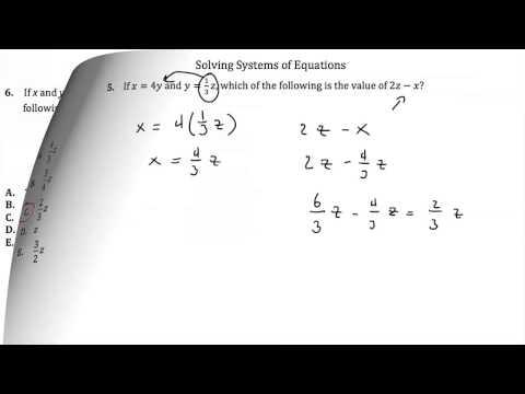 ACT Math - Intermediate Algebra Worksheet