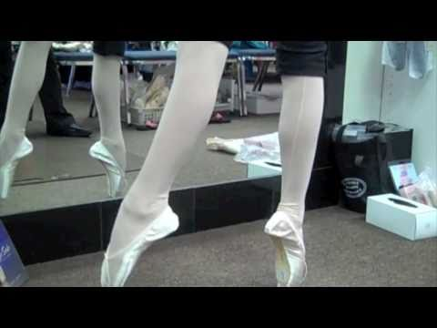 Robbie (12) Pointe Shoe Fitting Russian Pointes