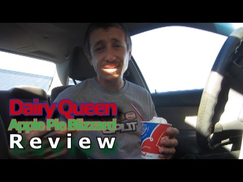 GG ep. 40 - Dairy Queen apple pie blizzard Review