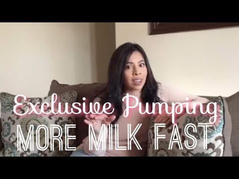 Exclusively Pumping | Increase Breast Milk Supply