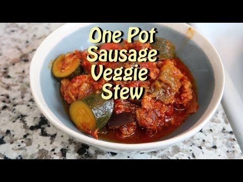 Sausage Veggie Stew Easy Recipe Eps 87