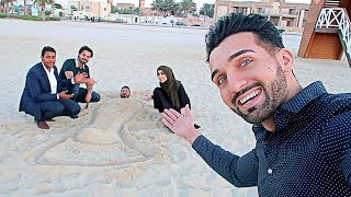 WE GOT KICKED OUT of DUBAI BEACH For THIS!!!
