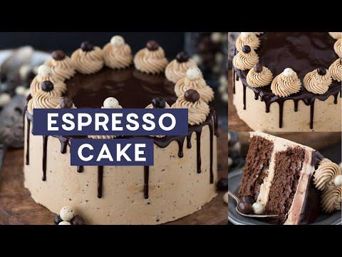 2 Layer Chocolate Espresso Cake