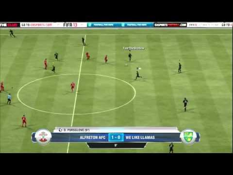 FIFA 13 PRO CLUBS PS3 | LACKING TEAM CHEMISTRY #3 | WE LIKE LLAMAS FC