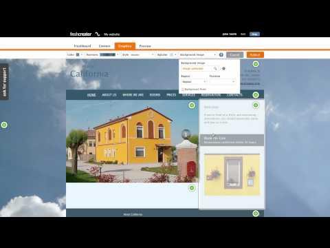 Create website for your hotel - freshcreator