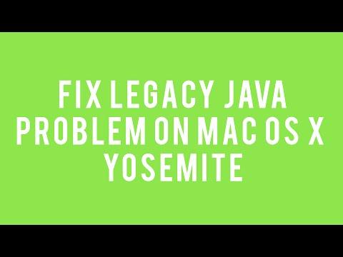 Fix Legacy Java Issue on Mac OS X Yosemite - ReadMeNow