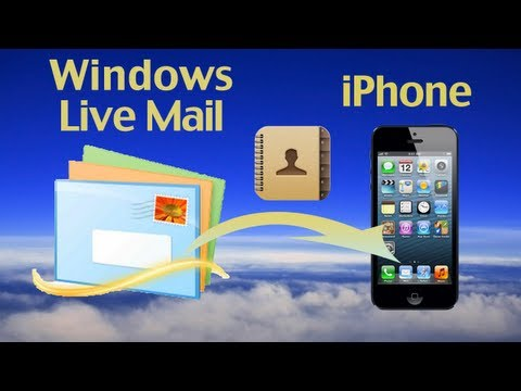 Switch to iPhone: How to import/switch Windows Live Mail Contacts to iPhone 6 Plus/6/5S/5C/5/4S/4?