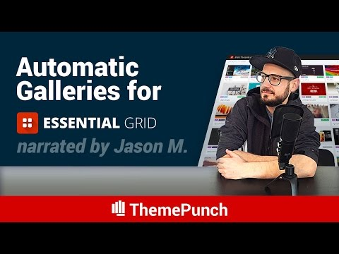 Automatic Galleries for Essential Grid