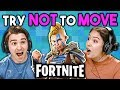 Fortnite  Try Not To Move Challenge (React Gaming) mp3