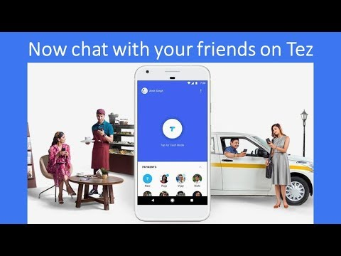 Now you can Chat with your friends on Google Tez