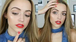 Full Face DRUGSTORE Summer Makeup