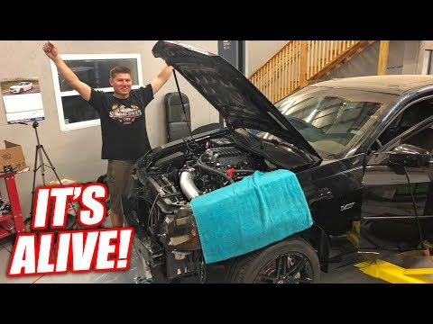 Supercharging the V' EP.5 - First Startup! WE HAVE POWAAA!