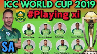 ICC Cricket World Cup 2019 : South Africa Probable Playing xi For World Cup 2019 | WC 2019