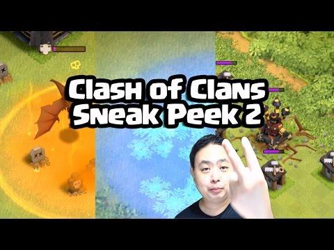 Sneak Peek 2 for Sep 2015 Clash of Clans - Revamp spells! - Gameplay footages!