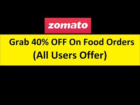 Zomato May40 - Food order get Upto 50% offer