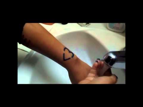How To: Clean and Moisturize A Fresh  Tattoo