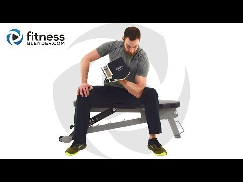 Upper Body Workout for Strength, Coordination and Control - Isolated Functional Strength Workout