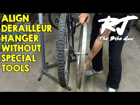 Straighten/Align Bent Derailleur Hanger Without Special Tool