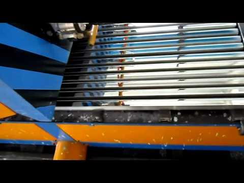 Aluminum Profile Polishing Machine-Running Operation At Dubai