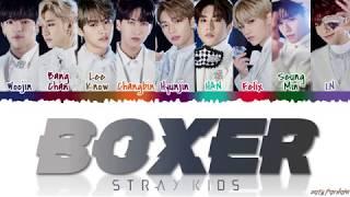 Download STRAY KIDS (스트레이 키즈) - 'BOXER' Lyrics [Color Coded Han Rom Eng] Video