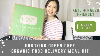 GREEN CHEF Unboxing and Cook with Me   Is Green Chef Worth It?   Organic Meal Kits
