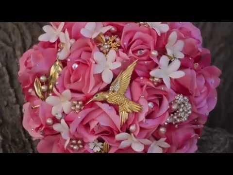 Brooch Bouquet DIY ideas