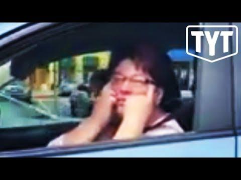 Racist Woman Attacks US Serviceman