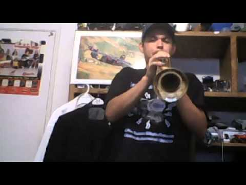 how to increase trumpet range by 9 notes! double and triple range!