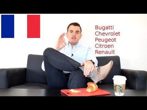 How to pronounce french car names