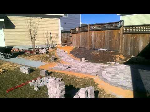 Time Lapse Circular Patio Paver Installation - #2