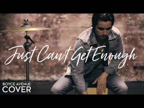 Black Eyed Peas - Just Can't Get Enough (Boyce Avenue cover) on Spotify & Apple