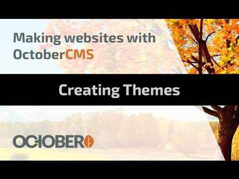 Making Websites With October CMS - Part 03 - Creating Themes
