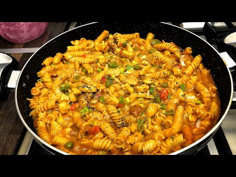 Creamy Chicken Curry Pasta By Yasmin's Cooking