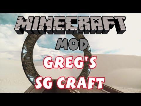Minecraft - Mod - Greg's SG Craft (Stargates!) (1.5.2)