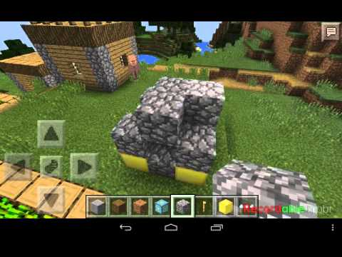 How to build portal in MCPE 0.11.1(100%Work)
