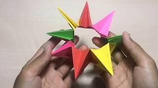 3 Ways to Make Modular Origami - wikiHow | 180x320