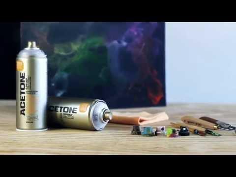 Montana ACETONE Spray (Cap Cleaner) 400ml
