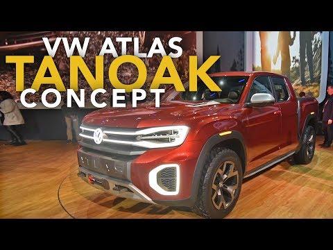 Volkswagen Atlas Tanoak and Cross Sport Concepts First Look - 2018 New York Auto Show