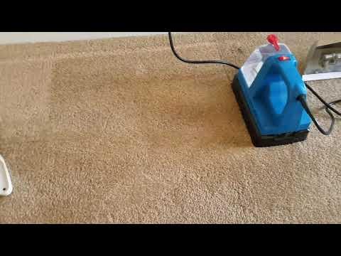 Good carpet repair. Removal of carpet dents.